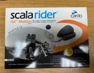 Intercomunicador Cardo scala rider Q2 pro