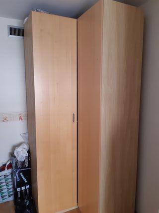Armario esquinero pax Ikea + Antoninus