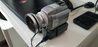 Camara video mini DV Sony DCR PC120E Pal