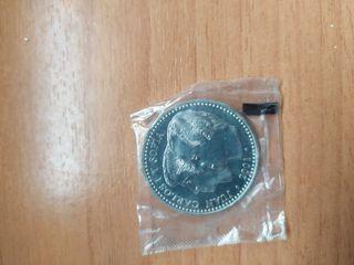 MONEDA ESPAÑA 2000 pesetas año 2001