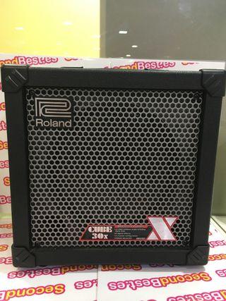 Amplificador guitarra roland cube 30x