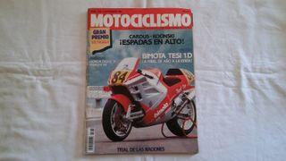 Bimoto Tesi, Honda Cross, Harley MOTOCICLISMO