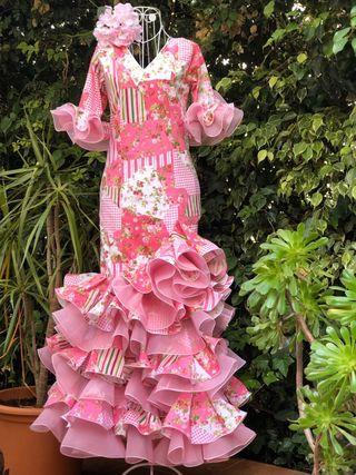 Traje de flamenca de niña