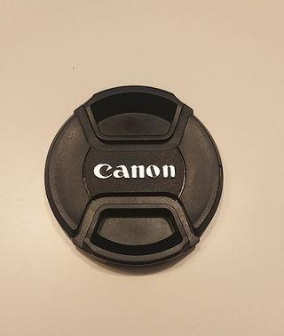 Tapa de objetivo para Canon