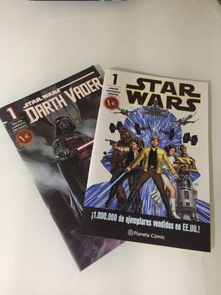 Cómics Star Wars.