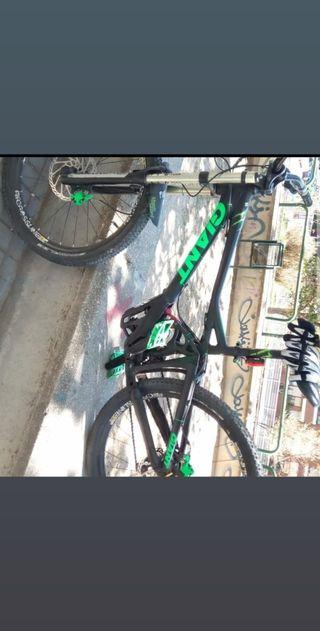 Bicicleta Descenso Giant Reign X1 doble suspensión