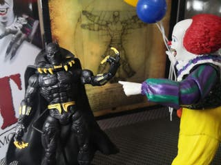 Black Panther Figure. Marvel Legends. Toy Biz