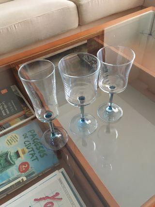 Copas cristal italianas. Nuevas a estrenar