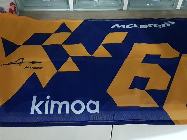 Bandera Fernando Alonso