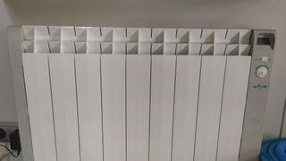 calor azul emisor térmico radiador calefacción