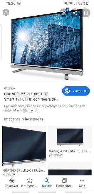 "TV 55"" Marca Grundig"