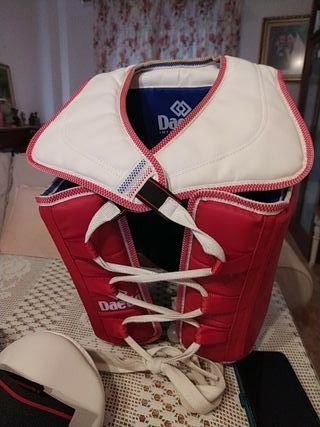material de taekwondo