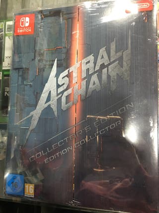 Extras Astral Chain Collectors Edition SWITCH
