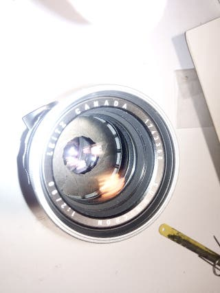 Leica summicron (leitz canada) diafragma 2, 130mm