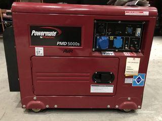 Generador POWERMATE Pmd 5000S diésel 4200w nuevo