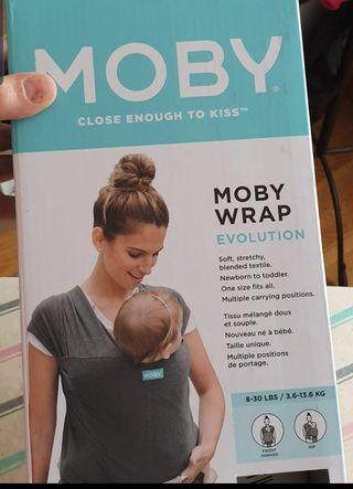Fular Portabebés Elástico Moby Wrap Evolution
