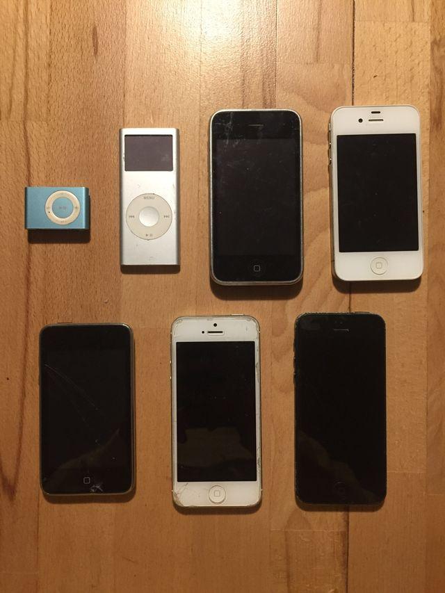 Lote de productos Apple