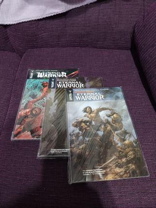 Eternal warrior 3 tomos.