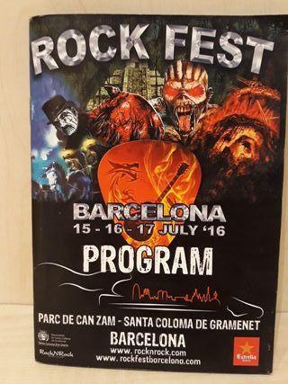 Programa Rockfest 2016