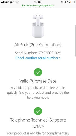 Apple airpods generation 2