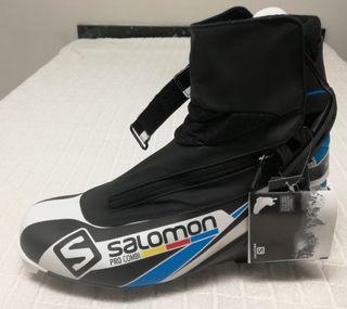Salomon Pro Combi 45 botas ski fondo de segunda mano por 95