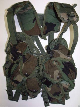 CHALECO US ARMY WOODLAND ORIGINALES.