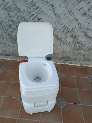 Inodoro WC portátil químico