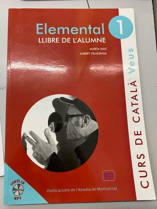 Libro y cuadernillo catalán. Veus