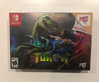 Turok, Nintendo Switch, Limited Run Games, Nuevo