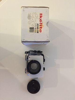 Cámara fotos canon IXUS 200 IS con carcasa Ikelite
