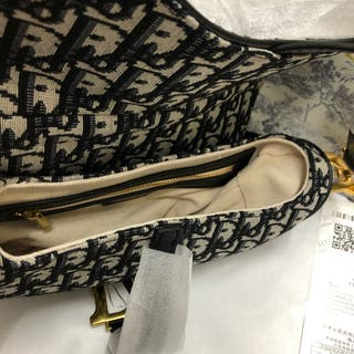 Brand New Dior Oblique Saddle Bag