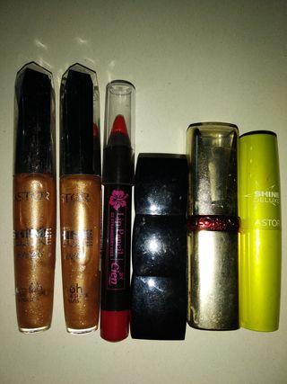 pintalabios, maquillaje, facial, Astor, L'Oréal