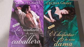 2 novelas románticas de Cecilia Grant