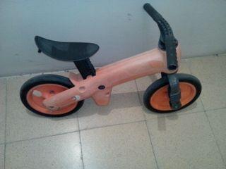 Bicicleta sin pedales niño