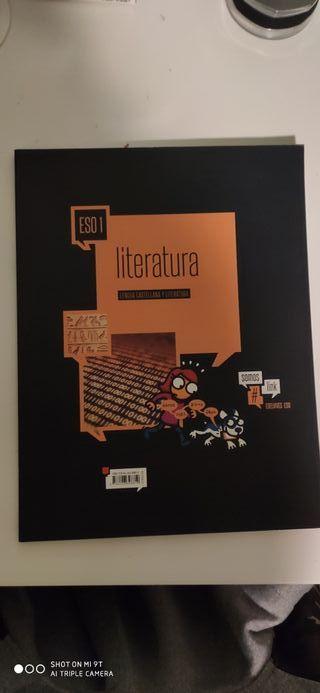 SE VENDE LIBRO DE LITERATURA 1 ESO
