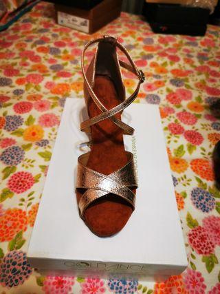 zapatos bailes latinos