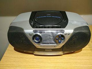 Radio cassette cd Philips AZ1310