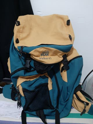mochila de camping