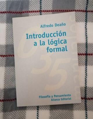 Introducción a la lógica formal, Alfredo Deaño
