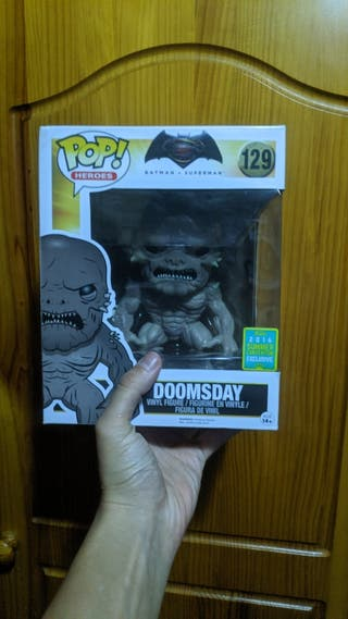 Funko Pop Doomsday Exclusivo ComicCon Batman