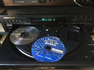 Reproductor multiples CDs Marantz CC-38
