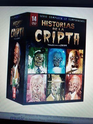 dvd.pack Historias de la Cripta (14dvds)