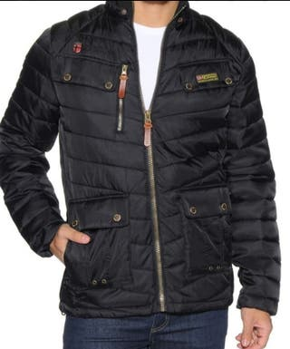 Parka Geographical norway negra talla M