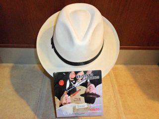 Disfraz. Sombrero ganster años 20