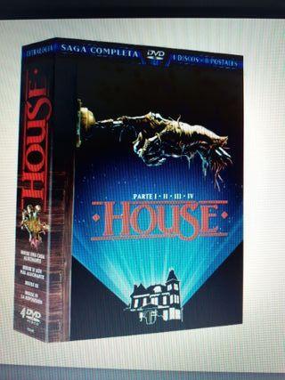dvd.pack House(4 peliculas) nueva