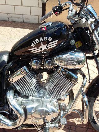 moto custom yamaha virago 535 xv