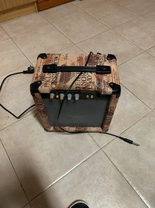 Amplificador guitarra eversound