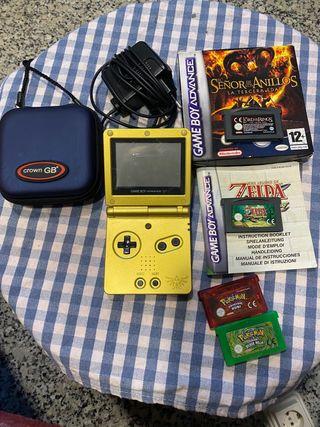 Game Boy Advance SP ( Edicion Limitada Zelda)