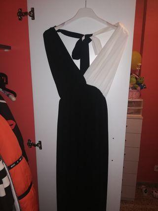 Vestido Black and white