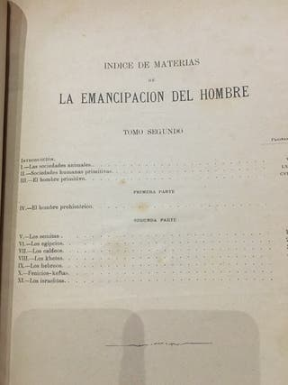 5 tomos del año 1883